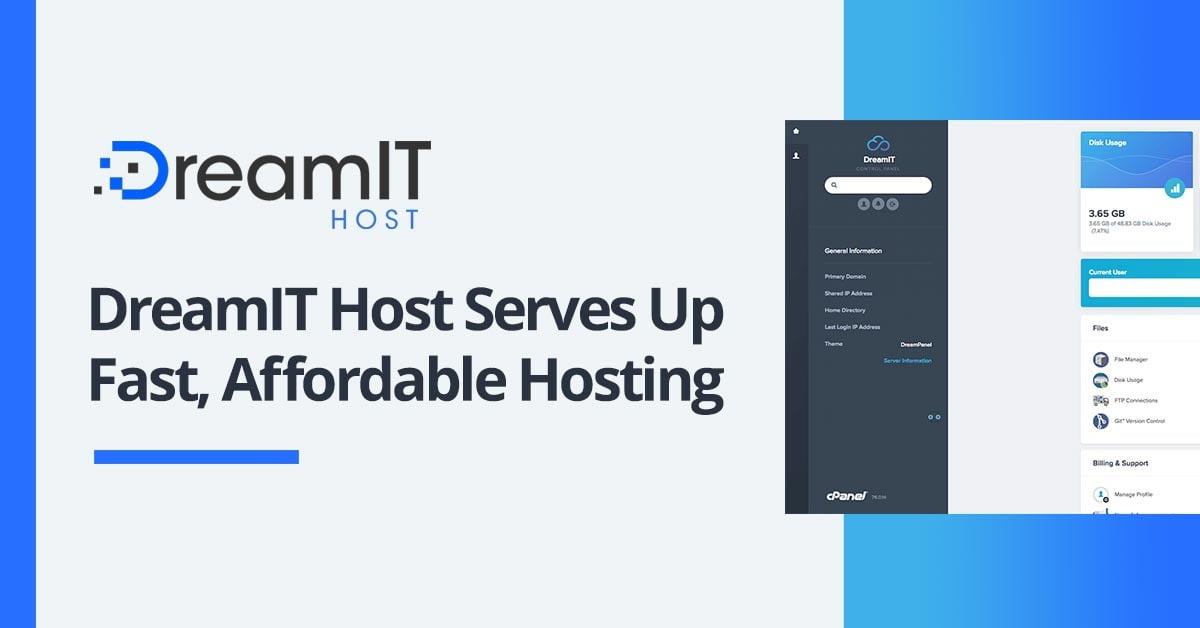 DreamIT Host featured on HostingAdvice.com